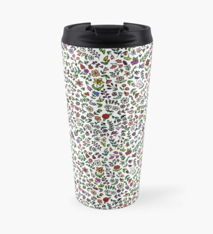 Flowers Are Everywhere Travel Mug