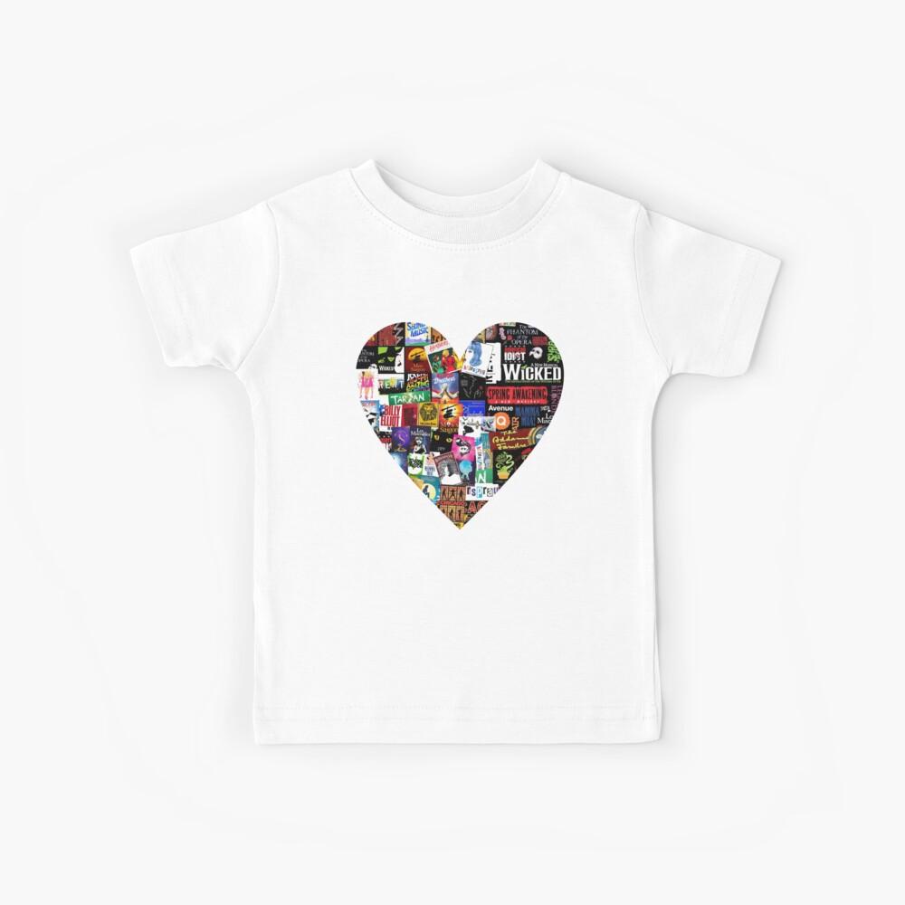 Musicals Collage II Kinder T-Shirt
