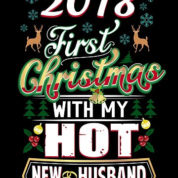 First Christmas With Hot New Husband 2018 Couple by JapaneseInkArt