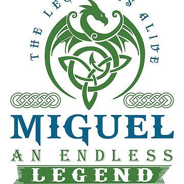 Legend T-shirt - Legend Shirt - Legend Tee - MIGUEL An Endless Legend by wantneedlove