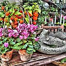 The flower shop.... by Patriciakb