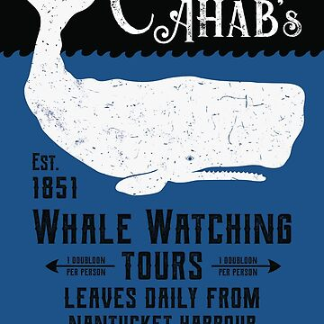 Captain Ahab's Whale Watching Tours - Moby Dick by IncognitoMode