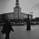 Walking at Frankfurter Tor by metronomad