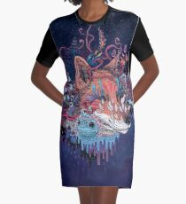 Envoy (Kitsune) Graphic T-Shirt Dress