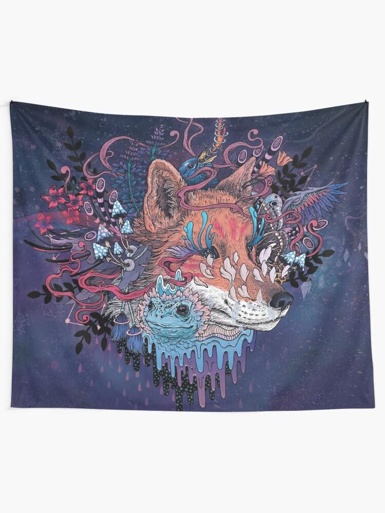 Alternate view of Envoy (Kitsune) Tapestry
