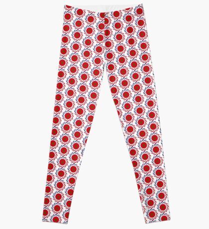 Moroccan American Multinational Patriot Flag Series Leggings