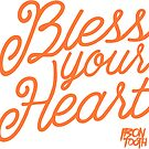 Bless Your Heart - Peach by irontooth