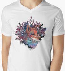 Envoy (Kitsune) V-Neck T-Shirt