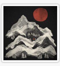 Moon Lake... Sticker