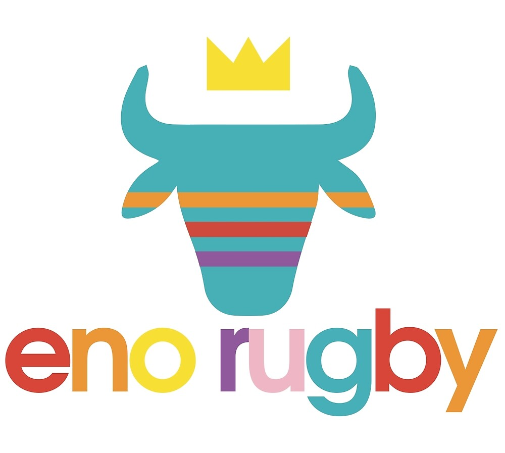 Eno Rugby Rainbow Logo by enoriverwomen