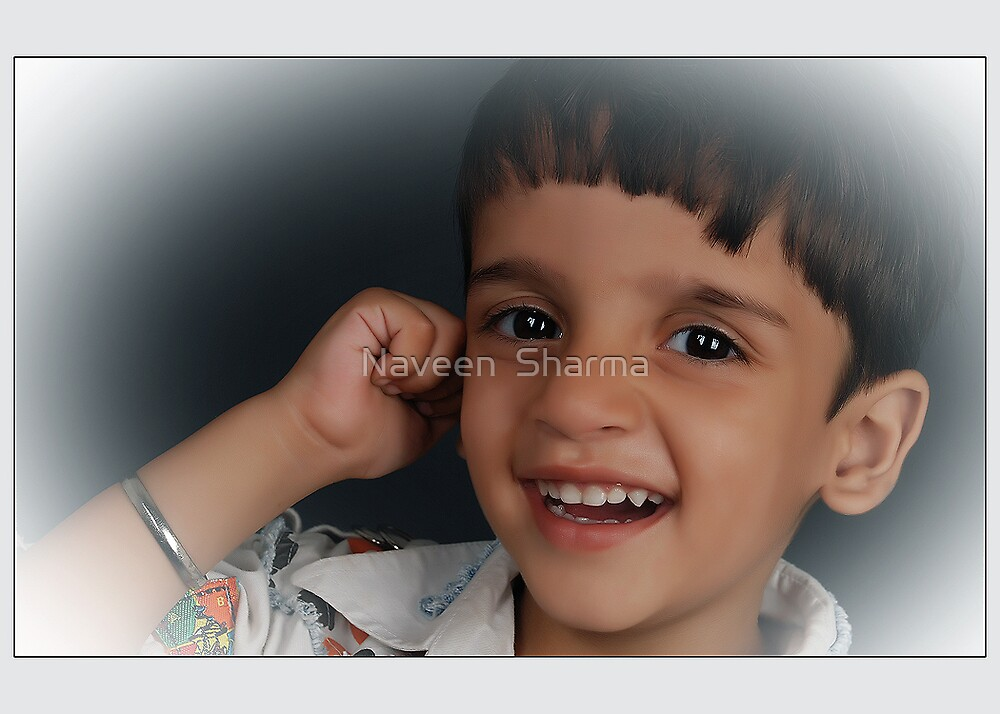 Baby Smile! by Naveen  Sharma