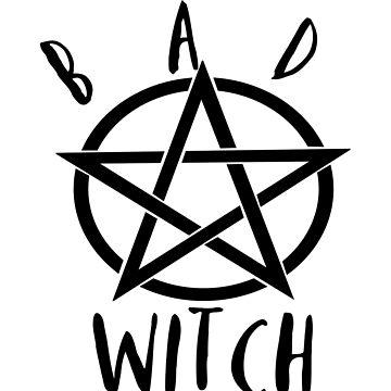 Bad Witch Pentagram by LouisianaLady