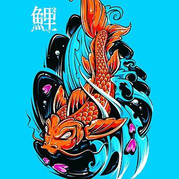 Asian Koi Fish by machmigo