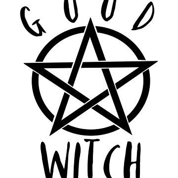 Good Witch Pentagram by LouisianaLady