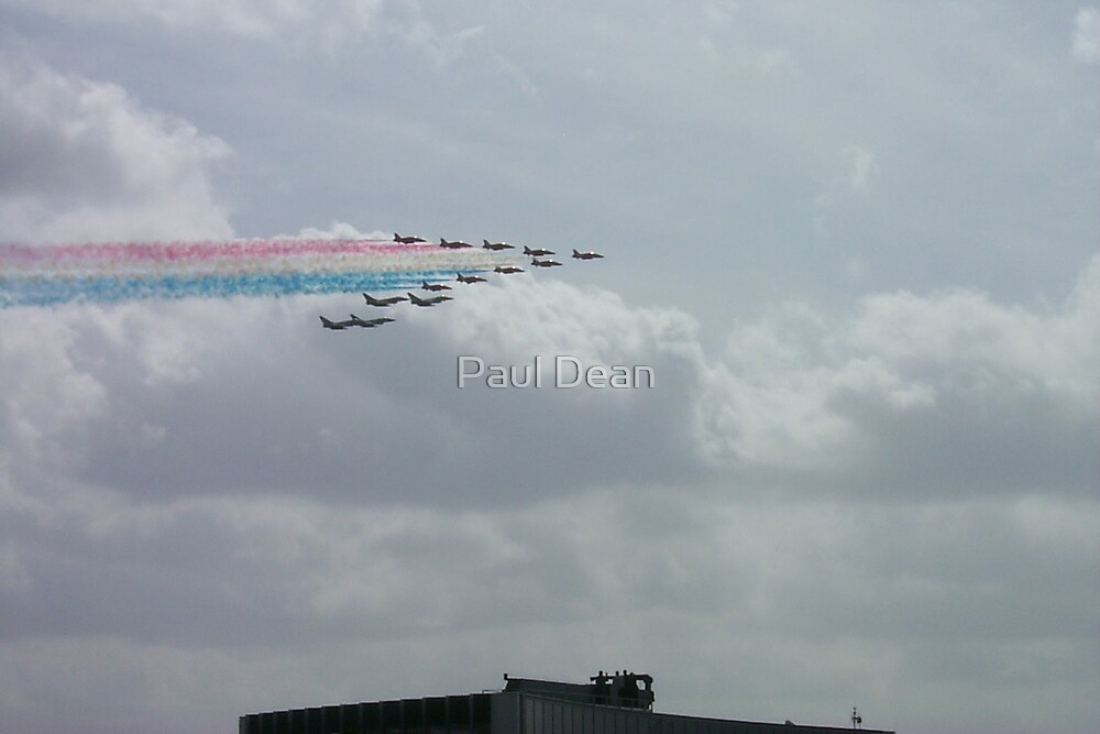 Red arrows and Typhoons  by Paul Dean