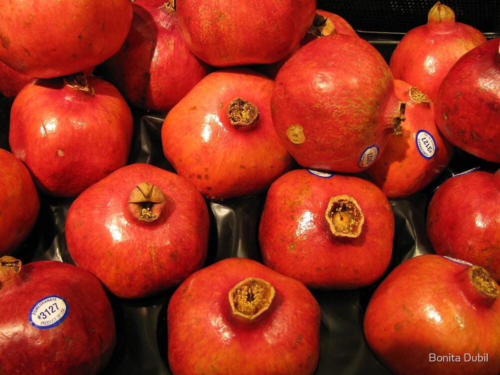 Pomegranates by Bonita Dubil