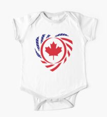 Canadian American Multinational Patriot Flag Series 2.0 One Piece - Short Sleeve