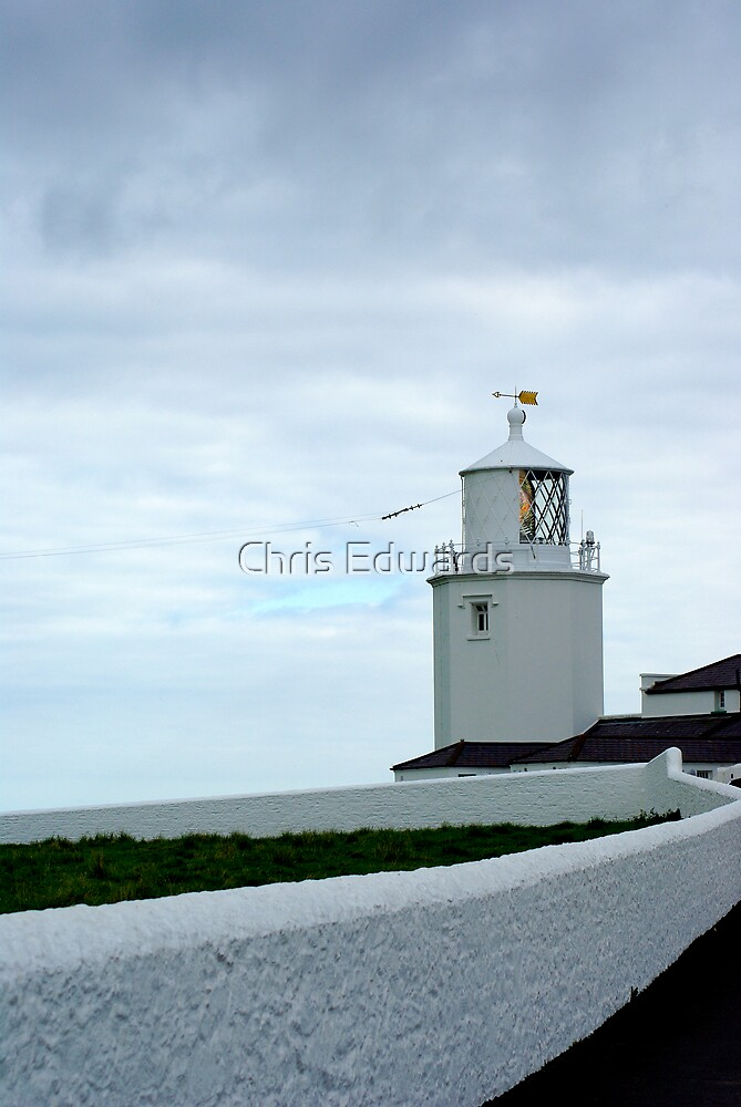 Pendeen, Another View. by Chris Edwards