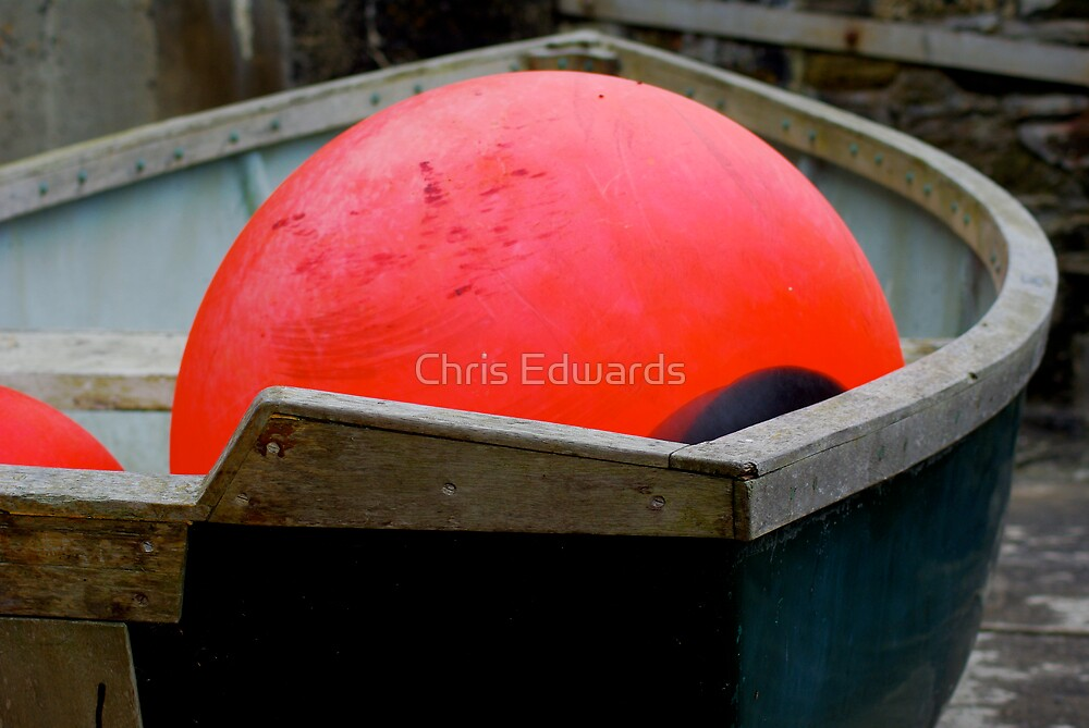 Buoy In A Boat by Chris Edwards