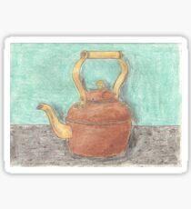 Copper Kettle [Chalk Pastel] Sticker