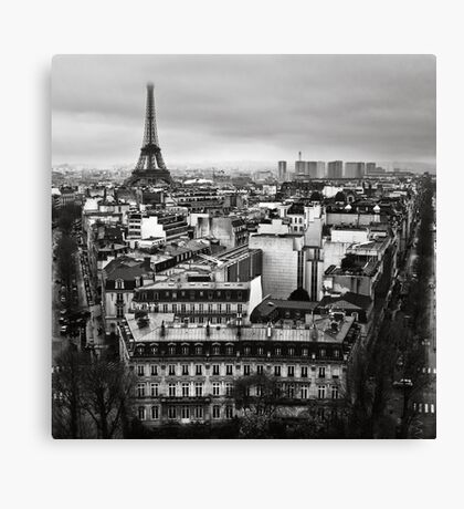 Paris cityscape II Canvas Print