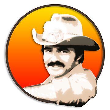 Burt Reynolds by BerksGraphics