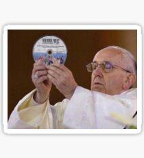 Mamma Mia Pope Meme Sticker