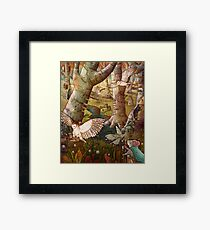 Of Mice and Owls Mouse Guard Fan Art Framed Print