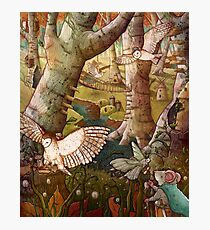 Of Mice and Owls Mouse Guard Fan Art Photographic Print