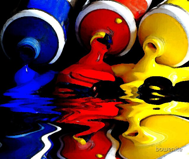 """""""Primary Colours"""" by bowenite"""