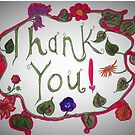 Thank You Card by JoyMurray