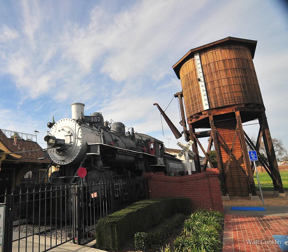 Lomita Locomotive by Walt Conklin