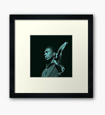 Blue Trane Framed Print