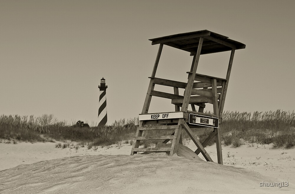 Cape Hatteras Lighthouse by shawng13