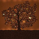 The Tree of Books by vladstudio