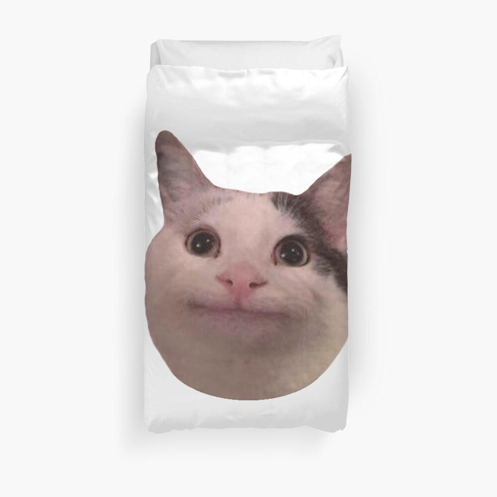 Polite Kitty Duvet Cover