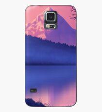 Pink Mountain Case/Skin for Samsung Galaxy
