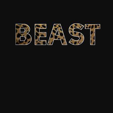 Beast in Animal Print by madtoyman