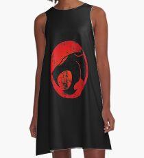 ThunderCats Logo · Distressed A-Line Dress