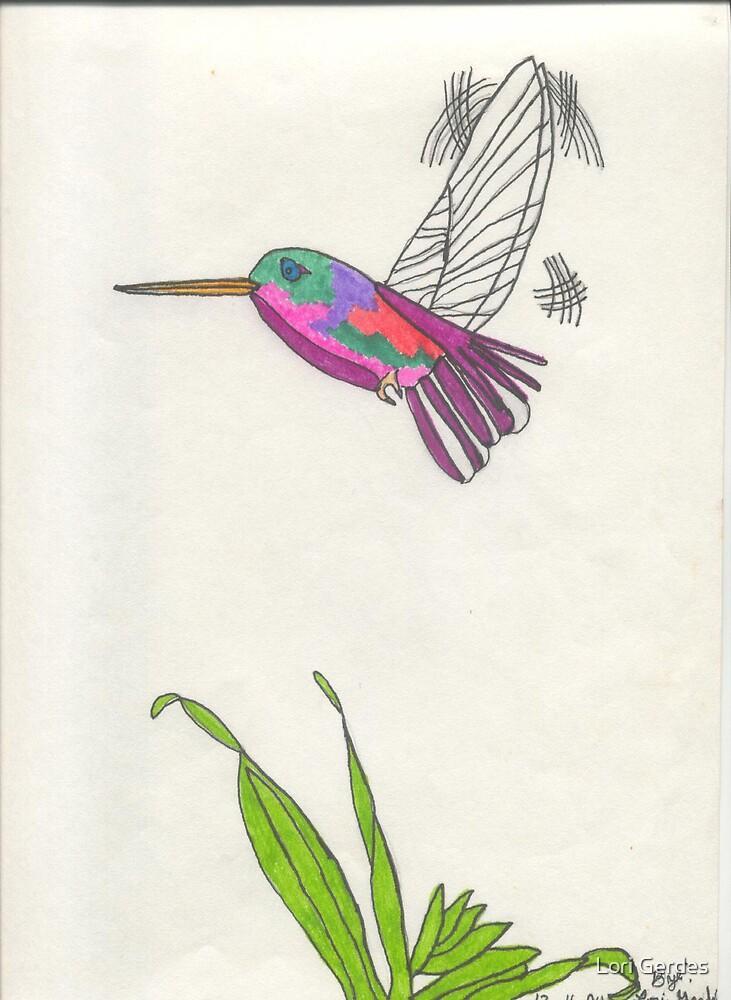 Humming Bird by Lori Gerdes