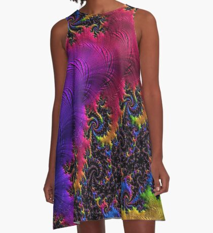 Rainbow Valley A-Line Dress