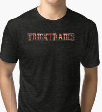 TrickTrades - UK Tri-blend T-Shirt