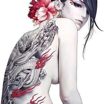 japan geisha by supra974