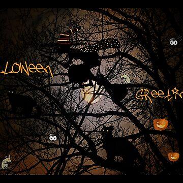 Halloween Greetings von RosiLorz