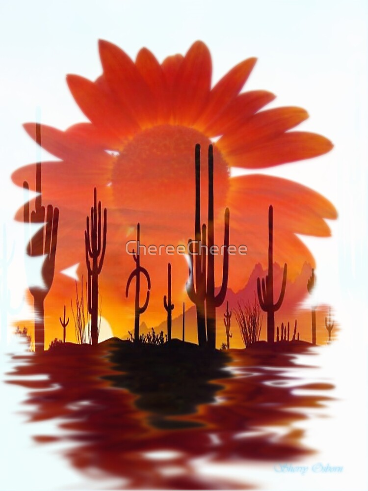 Sunflower Desert by ChereeCheree