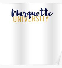 Marquette University Poster