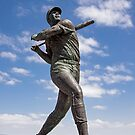 """Willie """"Stretch"""" McCovey Statue - McCovey Cove - San Francisco California by Buckwhite"""