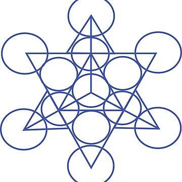 Star Tetrahedron by GeometricLove