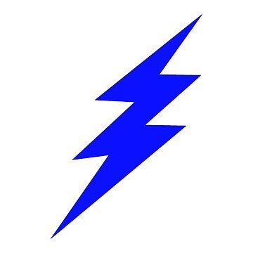 Blue lightning by WiltWilde