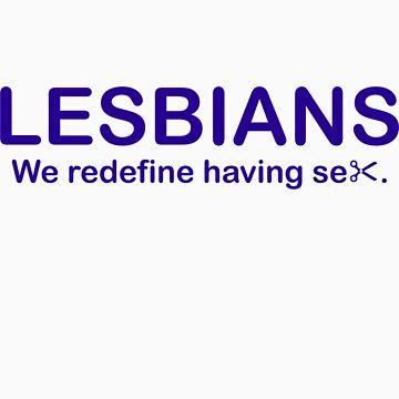 Lesbians Blue by JimMD102